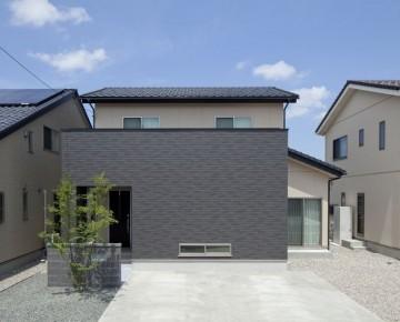 インナーテラスのある家。